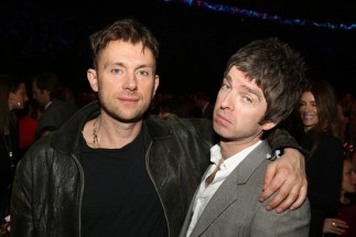 Albarn and Gallagher